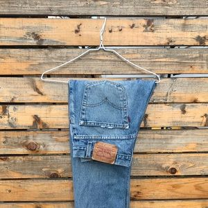 Levi's 505 Ripped Jeans